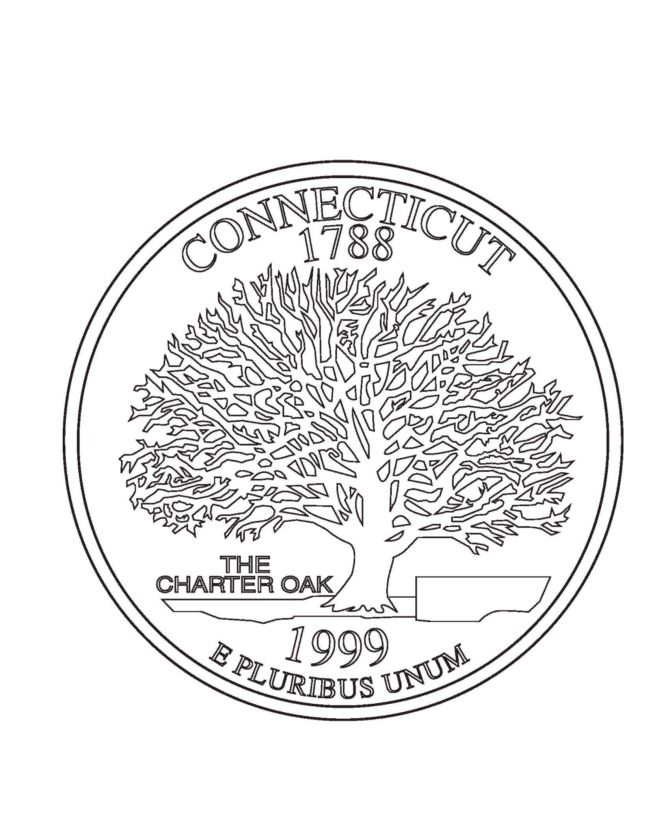coloring pages of connecticut - photo#26