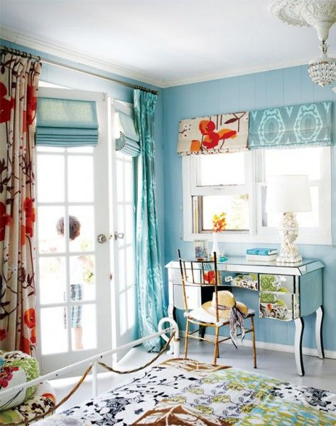 Mixed textiles curtains and drapes pinterest
