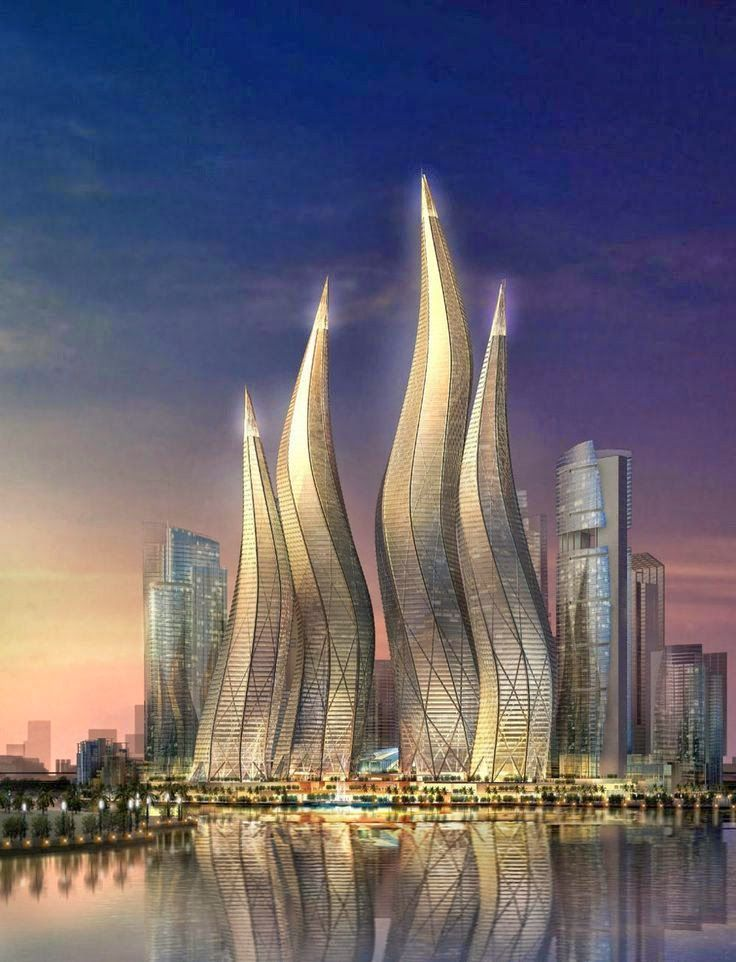 15 strange buildings you 39 d love to see architecture for D shaped hotel in dubai