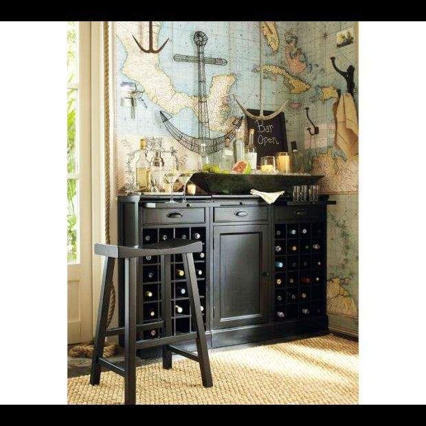 Nautical decor inspired by pirates For the Home Pinterest