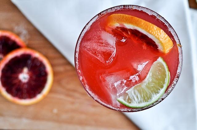 Blood Orange Margaritas | Lovely Libations | Pinterest