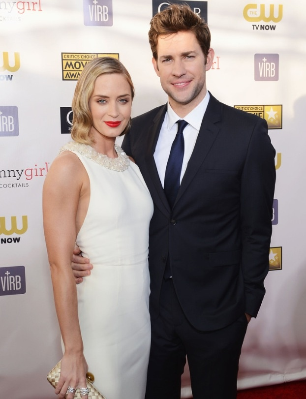 Emily blunt and her hu...