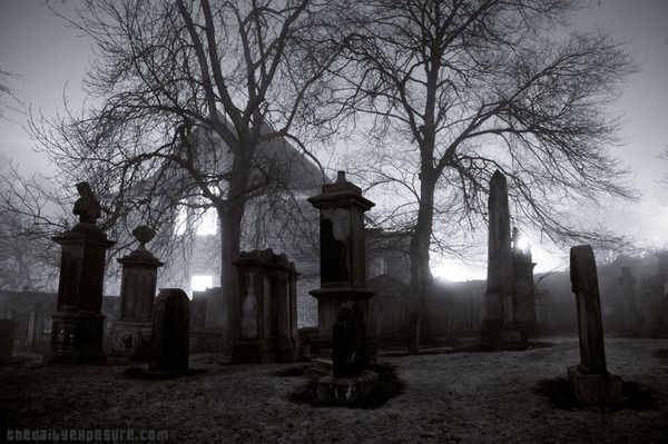 I love creepy graveyards | Graveyards | Pinterest