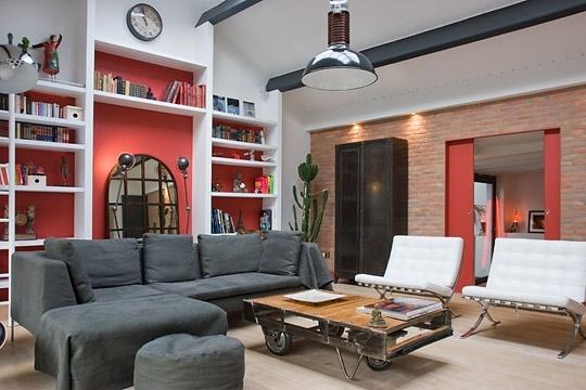 Salon chaleureux home sweet home pinterest - Decoration salon chaleureux ...