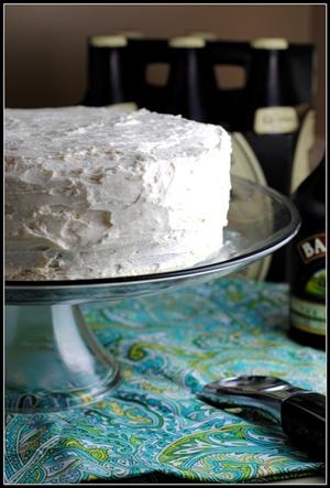 Dark Chocolate Guinness Cake with Bailey's Buttercream {Happy Birthday ...