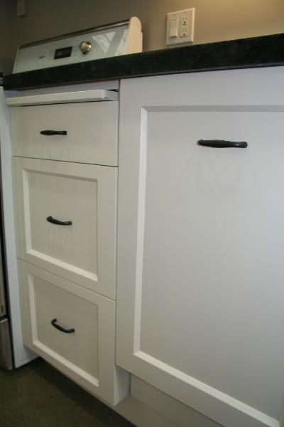 Shaker cabinet door bevel inset beaded edge
