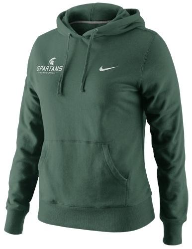 MSU Nike Women's Pullover Hoodie