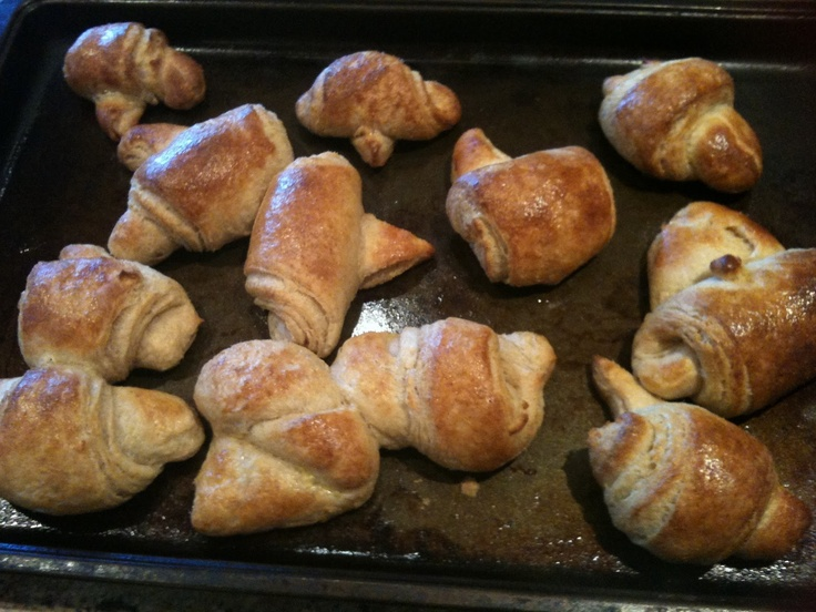 100% whole wheat croissants | du table d'hote | Pinterest