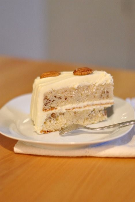 cake days maple and pecan layer cake   Cakes   Pinterest