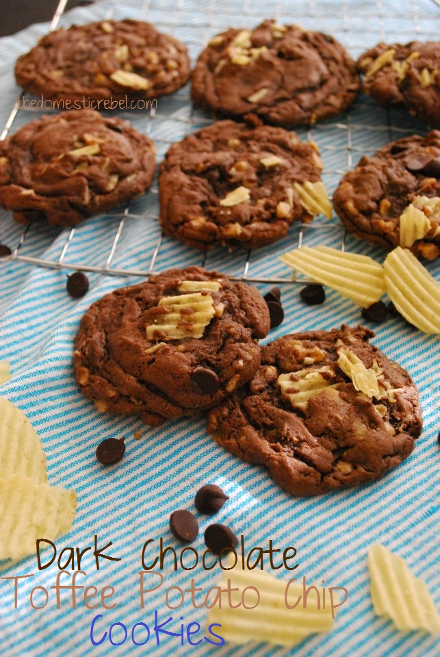 Salty Sesame And Dark Chocolate Chip Cookies Recipes — Dishmaps