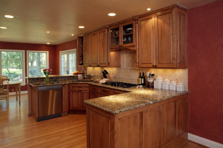 Configuration not the colors kitchen great room for Kitchen configurations