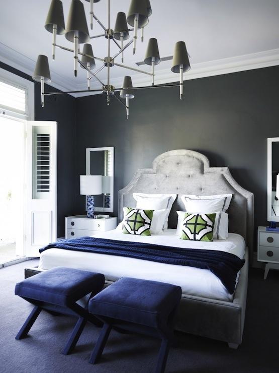 Jonathan Adler Style Bedroom Interior Design Pinterest