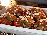 Greek style stuffed peppers.