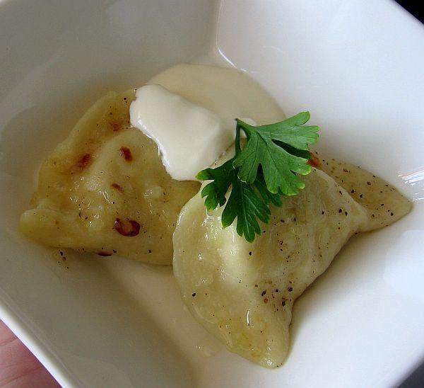 Potato-Cheese Pierogi Recipe - Pierogi Ruskie - Recipe for Potato ...