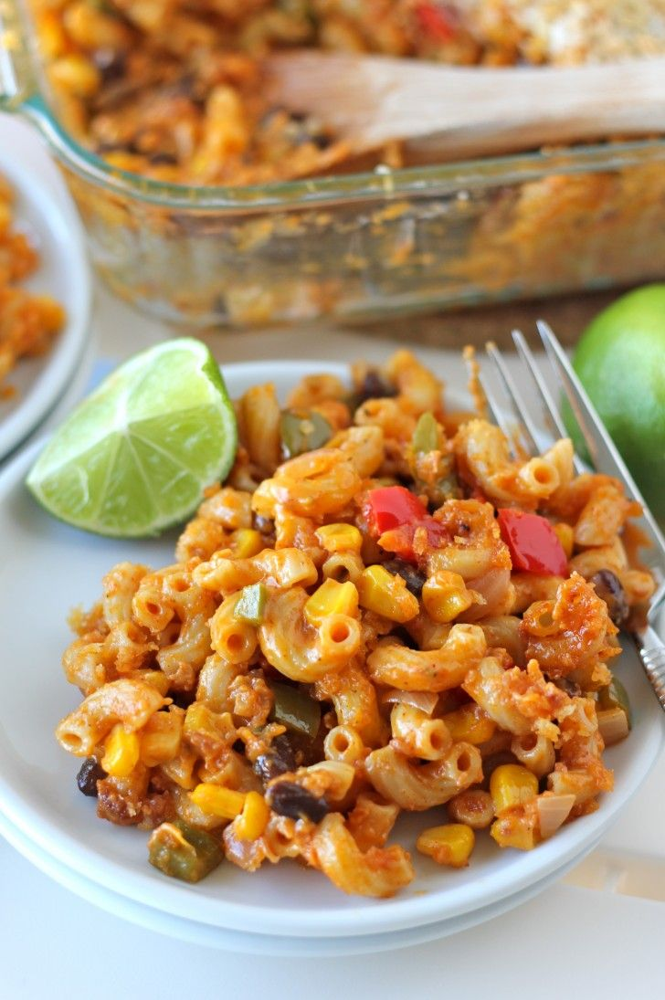 fun tex-mex twist on the traditional mac and cheese that the whole ...