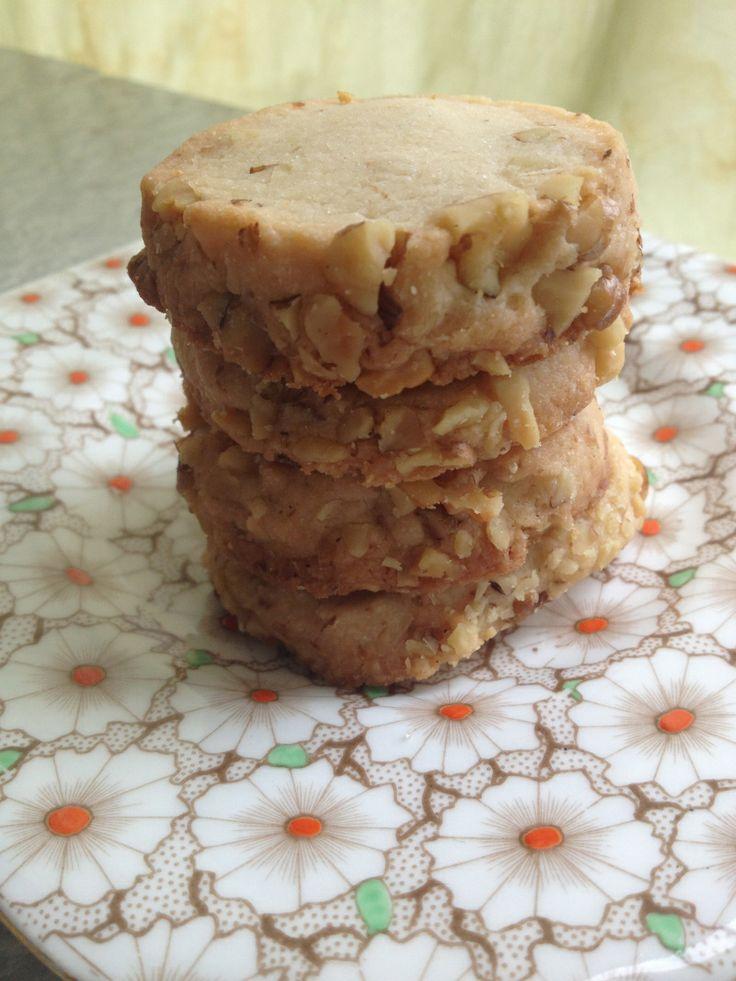 cream cheese walnut cookies   Cookie Exchange   Pinterest