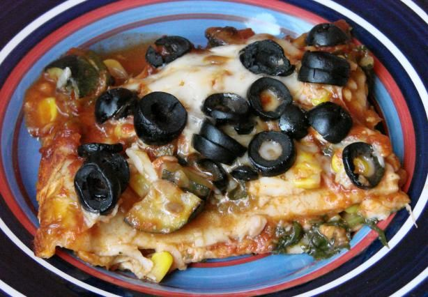 Vegetarian Enchilada Casserole | Recipe