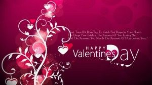 valentine day shayari in english