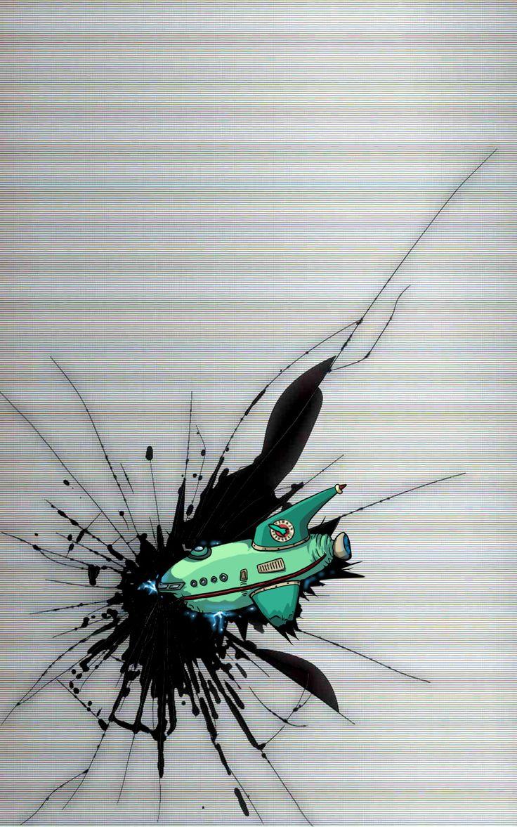 Futurama iphone wallpaper