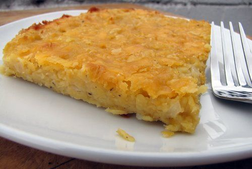 Lentil Recipe - Baked Split Red Lentils - Easy Vegetarian Recipe