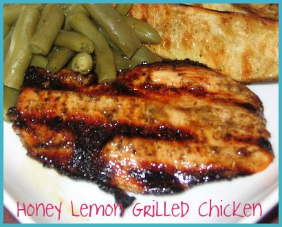 Honey Lemon Marinade for Chicken (Made this tonight and it was ...