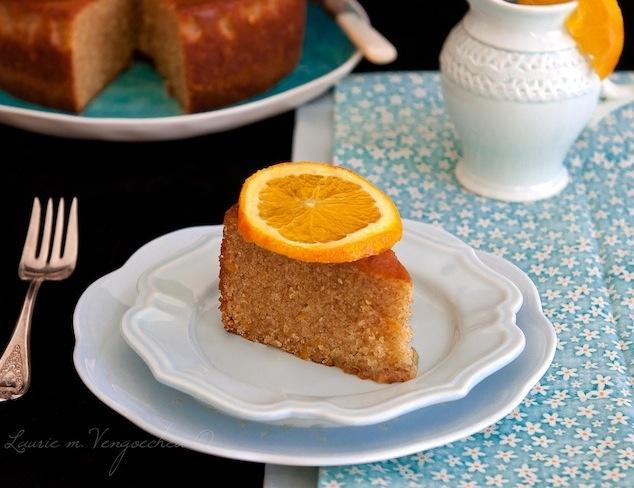 Ummm yes please! Dalla Mia Cucina: Orange Scented Olive Oil Cake