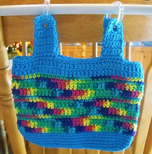 Crochet Patterns For Walker Bags : Beautiful Hand Crocheted Bag For Baby Strollers, Walkers ...