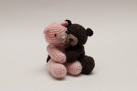 Crochet - Stuffed Toy Patterns - Teddy Bears to Treasure