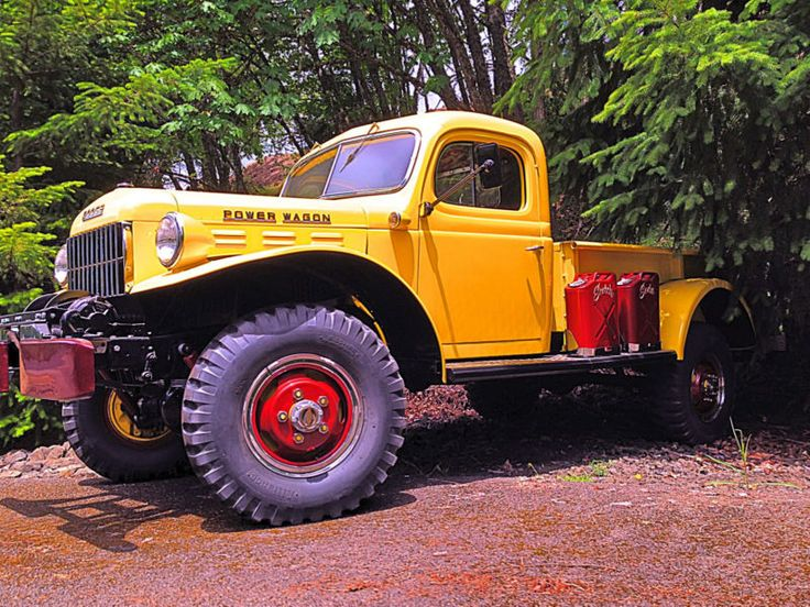 1960 dodge w300 4x4 power wagon for autos post for Motorized wagon for sale