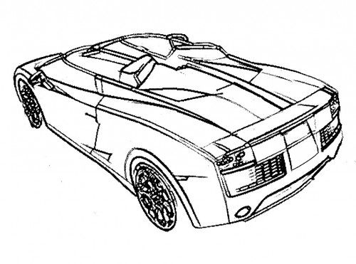 free coloring pages of fast and furious cars