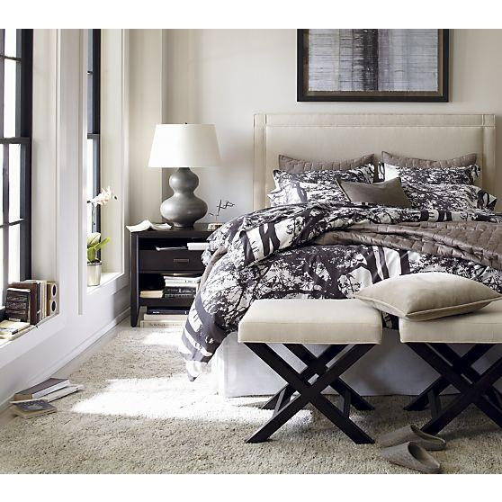 Upholster Headboard Crate And Barrel For The Home