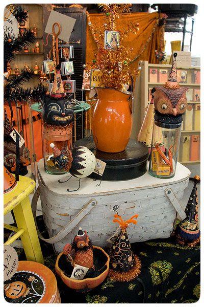 Vintage halloween decorations halloween pinterest for Antique halloween decoration