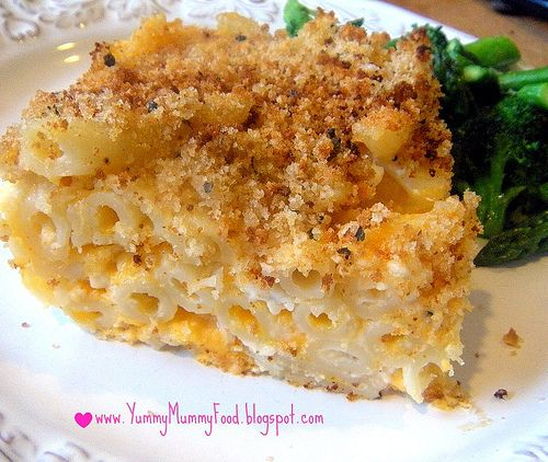 Healthy Macaroni and Cheese | Food and Drinks | Pinterest