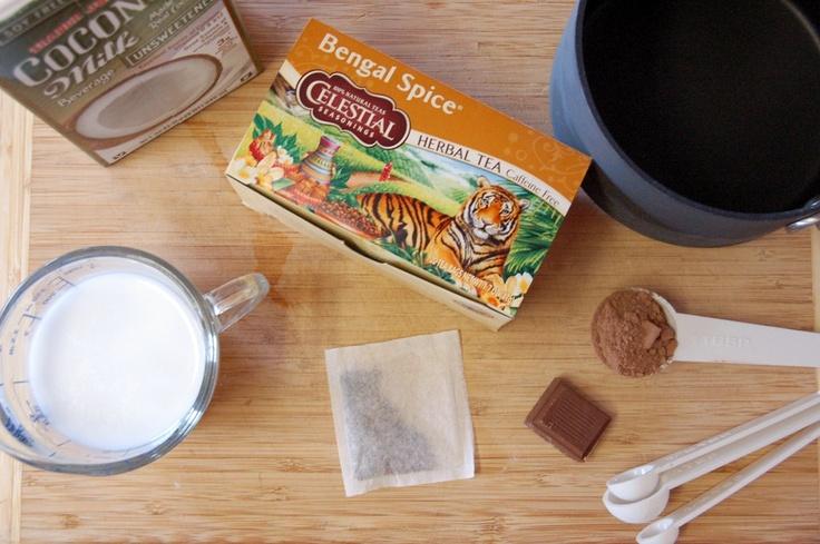 Chai Hot Chocolate | Drink Up | Pinterest