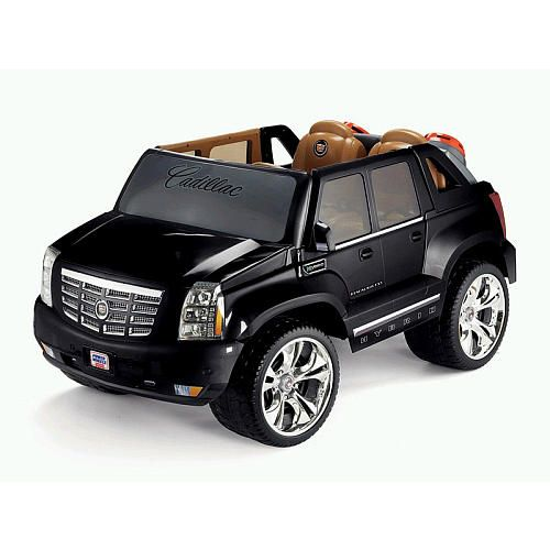Ext Cadillac: Power Wheels Fisher-Price Cadillac Hybrid Escalade EXT