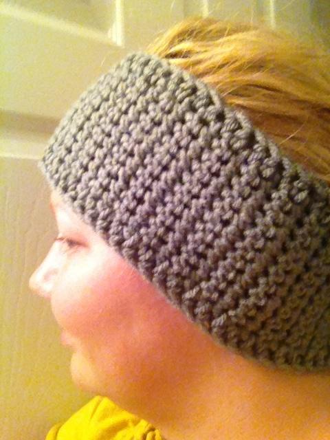 Crocheting Ear Warmers : Crocheted ear warmer Crochet Headbands Pinterest