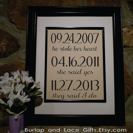 Wedding Gift - Second Anniversary Gift - Cotton Anniversary ...