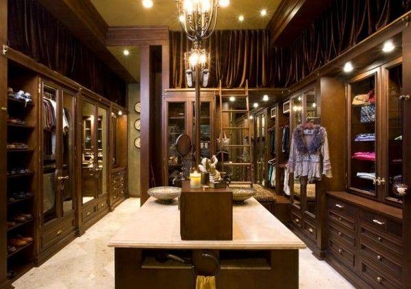 Luxury Walk In Closet Closets I LOVE