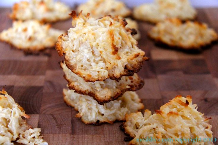 coconut macaroons | Cookie Recipes | Pinterest