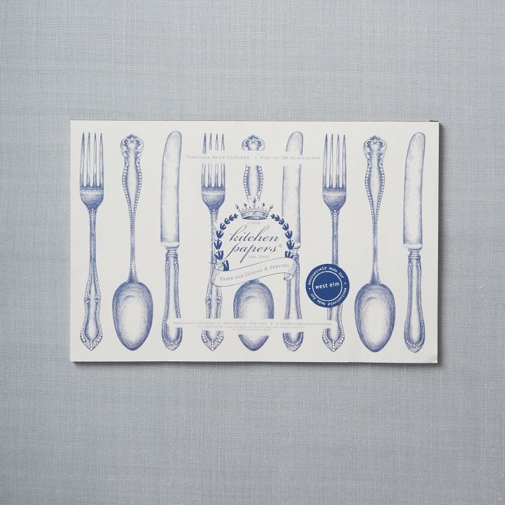 Cake Kitchen Paper Placemats Products I Love Pinterest