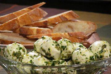 Marinated Bocconcini #KitchenBoss