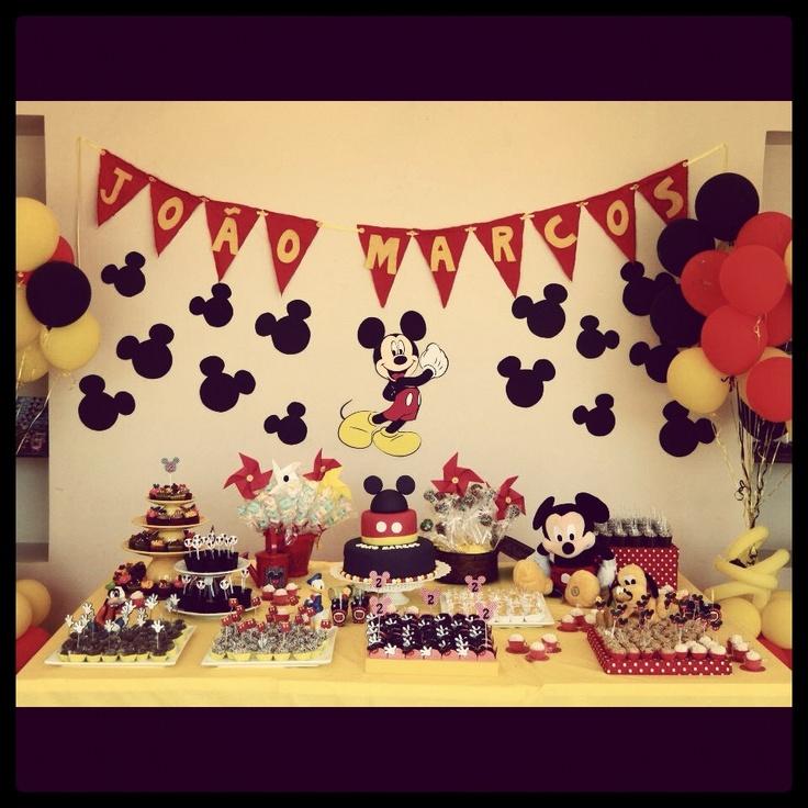 decoracao festa mickey : decoracao festa mickey:Decoracao Festa Mickey Mouse