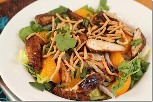 Asian Sesame Chicken Salad | Salad Bar | Pinterest