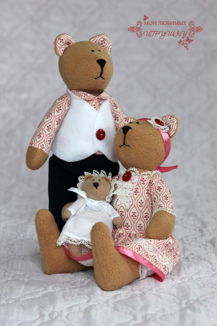 Медвежья семья, soft toy