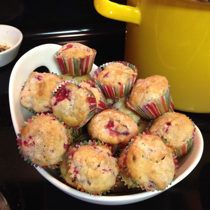 Sugar-Crusted Raspberry mini muffins Recipe from Realsimple.com | Food ...