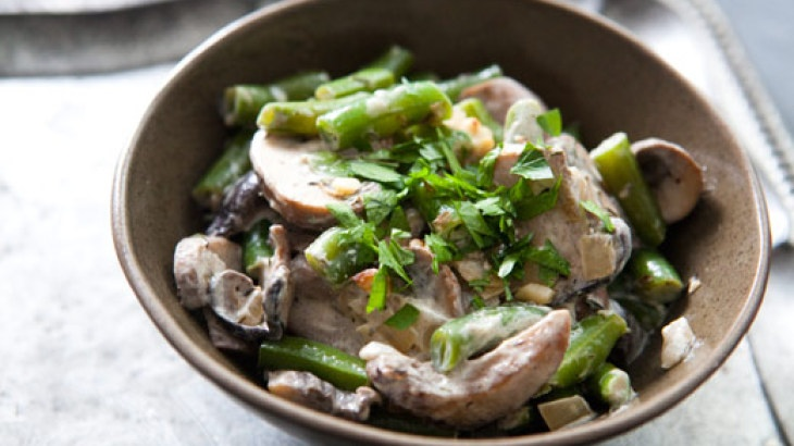 Creamy Green Beans and Mushrooms | Low Carb/Gluten Free Life Style ...