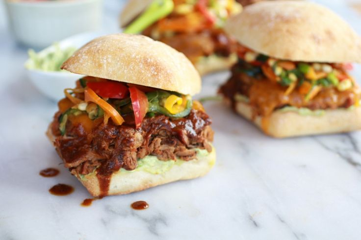 Cheesy Crockpot Cajun Pulled Pork with Southwest Pepper-Corn Slaw | R ...