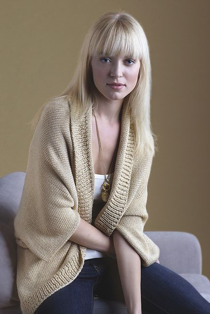 Free Knitting Pattern For Shrug : Glitter Shrug Pattern - free on Ravelry Knitting - womens sweaters?