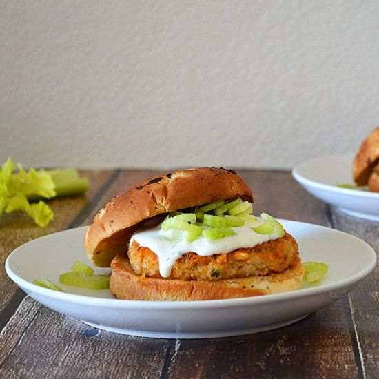 White Bean Buffalo Ranch Burger | The search for the ultimate veggie ...