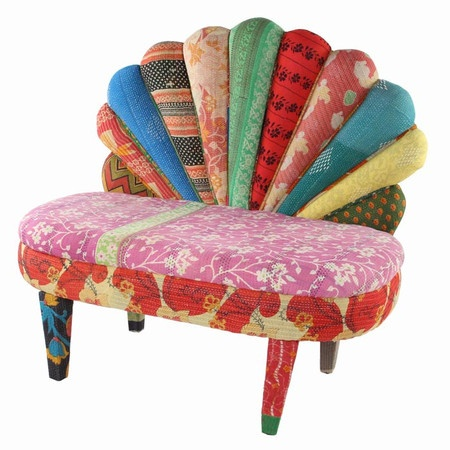 Peacock Love Accent Chair II Funky Home Fashion